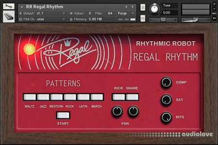 Rhythmic Robot Audio Regal Rhythm KONTAKT