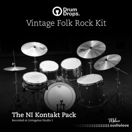 Drumdrops Vintage Folk Rock Kit KONTAKT