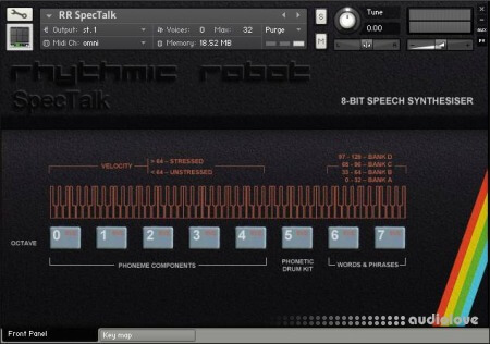 Rhythmic Robot Audio Spectalk