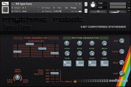 Rhythmic Robot Audio Spectone KONTAKT