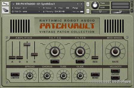 Rhythmic Robot Audio PatchVault HT6000 KONTAKT