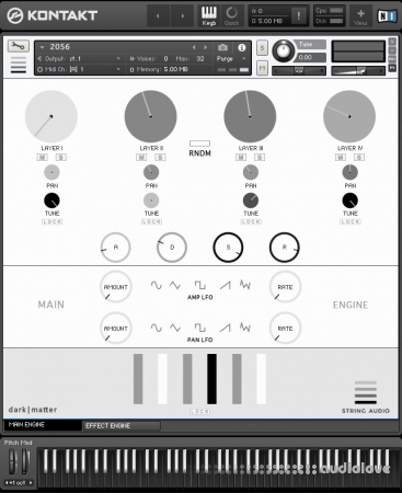 String Audio Dark Matter v1.6 KONTAKT