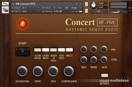 Rhythmic Robot Audio Concert RF5 KONTAKT