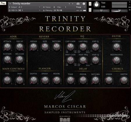 Marcos Ciscar Trinity Recorder