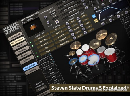 Groove3 Steven Slate Drums 5 Explained TUTORiAL