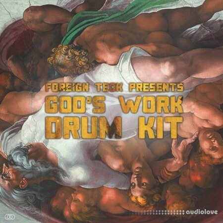 Foreign Teck Presents Gods Work Drumkit WAV