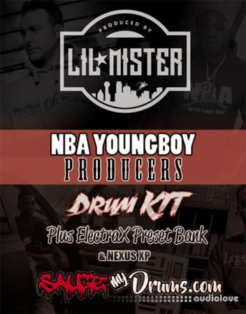 Lil Mister NBA Youngboy Producers Kit WAV Synth Presets DAW Templates