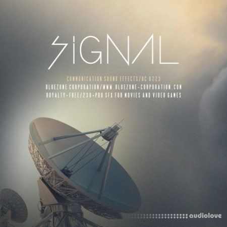 Bluezone Corporation Signal Communication Sound Effects WAV