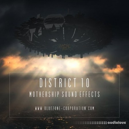 Bluezone Corporation District 10 Mothership Sound Effects WAV