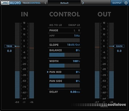 DMG Audio TrackControl v1.0.1 WiN MacOSX