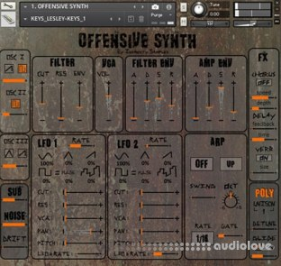 Insanity Samples Offensive Synth