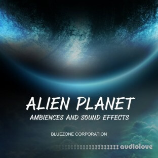 Bluezone Corporation Alien Planet Ambiences And Sound Effects