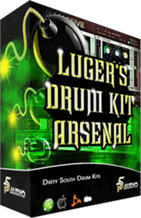 P5 Audio Lugers Dirty South Drum Kit Arsenal