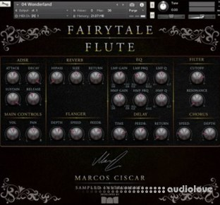 Marcos Ciscar Fairytale Flute