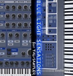 GPR Music Project Blue Light Sensations