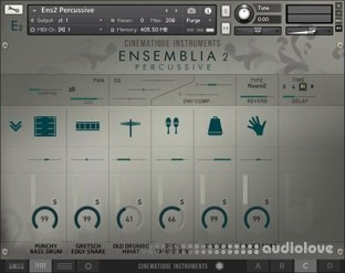 Cinematique Instruments Ensemblia 2 Percussive