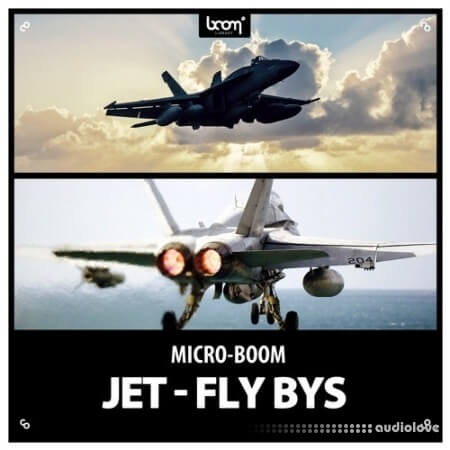 Boom Library Jet Fly Bys WAV