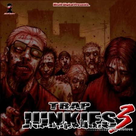 Misfit Digital Trap Junkies 3 WAV MiDi