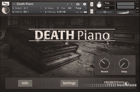 Production Voices Death Piano KONTAKT