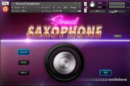 Embertone Sensual Saxophone KONTAKT
