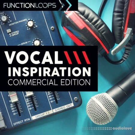Function Loops Vocal Inspiration Commercial Edition WAV