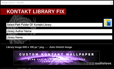 Kontakt Library FIX Utility WiN