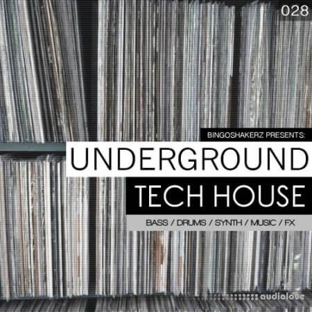 Bingoshakerz Underground Tech House WAV
