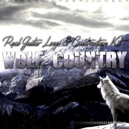 The Drum Bank Wolf Country WAV MiDi
