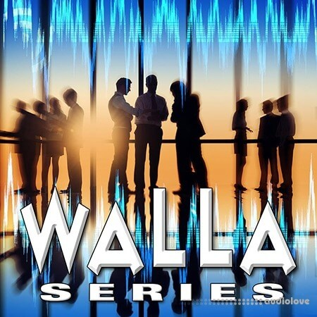 Sound Ideas Walla Series Sound Effects WAV