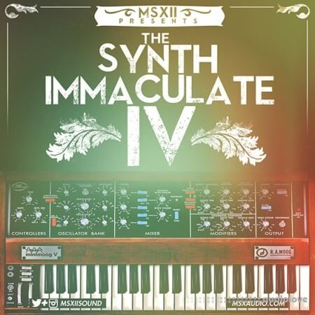 MSXII Sound MSXII Synth Immaculate 4 WAV Logic Sampler Patches