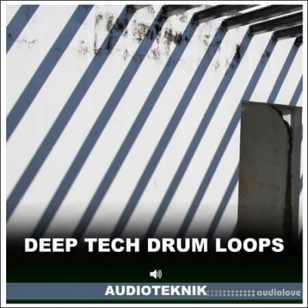 Audioteknik Deep Tech Drum Loops WAV