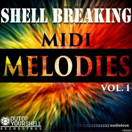 Out Of Your Shell Sounds Shell Breaking Melodies Vol.1 MiDi