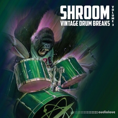 Shroom Vintage Drum Breaks Vol.3 WAV