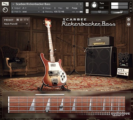 Native Instruments Scarbee Rickenbacker Bass v1.2.0 KONTAKT