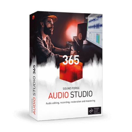 MAGIX SOUND FORGE Audio Studio 13 Portable v13.0.0.45 (x64) WiN