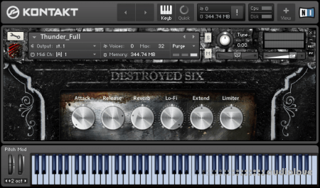 Strix Instruments Destroyed Six Cinematic Detuned Pianos v1.0.1 KONTAKT