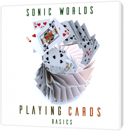 Sonic Worlds Playing Cards Basics WAV MP3