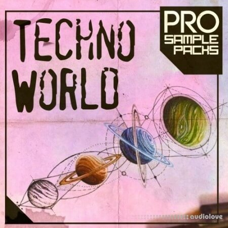 Pro Sample Packs Techno World WAV MiDi Synth Presets