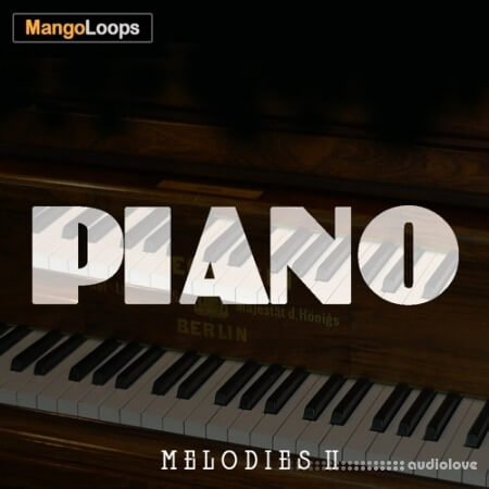 Mango Loops Piano Melodies Vol.2 WAV MiDi