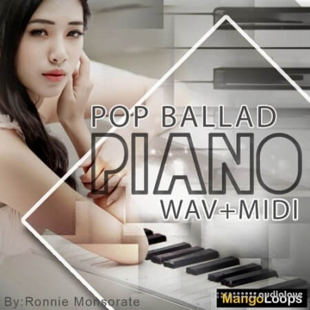 Mango Loops Pop Ballad Piano WAV MiDi