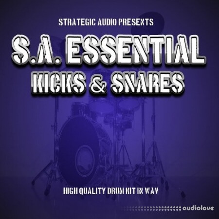 Strategic Audio S.A. Essential Kicks and Snares WAV
