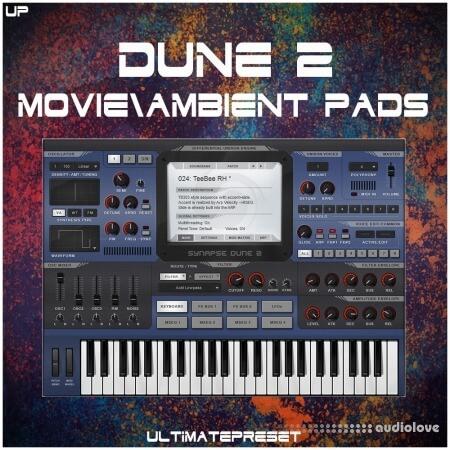 Ultimate Preset Dune 2 Movie and Ambient Pads Synth Presets