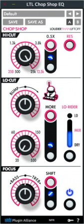Louder Than Liftoff Chop Shop EQ v1.0 WiN MacOSX