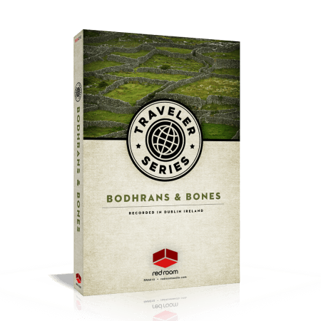 Red Room Audio Traveler Series Bodhrans And Bones KONTAKT