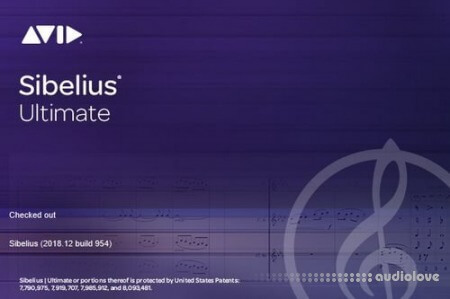 Avid Sibelius Ultimate 2018.12 Build 954 Multilingual WiN
