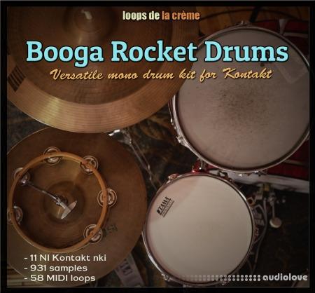 Loops De La Creme Booga Rocket Drums KONTAKT