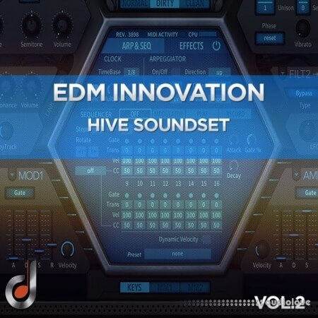 DUSTONS EDM Innovation Vol.2 Synth Presets