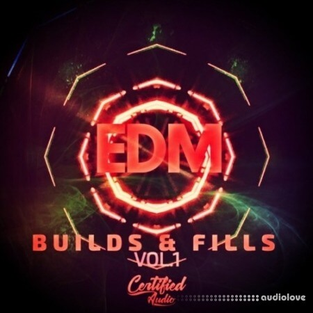 Certified Audio LLC EDM Fills and Builds Vol.1 WAV