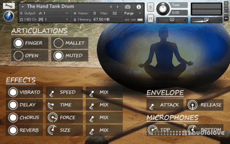 Stormwave The Hand Tank Drum KONTAKT
