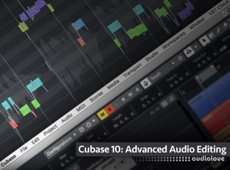 Groove3 Cubase 10 Advanced Audio Editing TUTORiAL